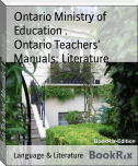 Ontario Teachers' Manuals: Literature