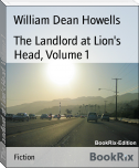 The Landlord at Lion's Head, Volume 1