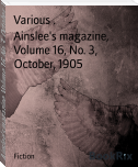 Ainslee's magazine, Volume 16, No. 3, October, 1905