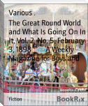 The Great Round World and What Is Going On In It, Vol. 2, No. 5, February 3, 1898        A Weekly Magazine for Boys and