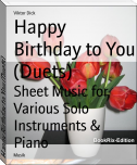 Happy Birthday to You (Duets)