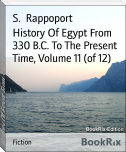 History Of Egypt From 330 B.C. To The Present Time, Volume 11 (of 12)