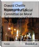 Report of the Special Committee on Moral Delinquency in Children and Adolescents