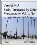 Birds, Illustrated by Color Photography, Vol. II, No 3, September 1897