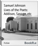 Lives of the Poets: Addison, Savage, etc
