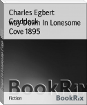 way Down In Lonesome Cove 1895