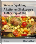 A Letter on Shakspere's Authorship of The