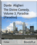 The Divine Comedy, Volume 3, Paradise [Paradiso]