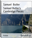 Samuel Butler's Cambridge Pieces