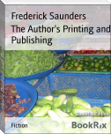 The Author's Printing and Publishing