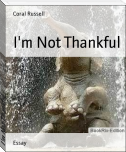 I'm Not Thankful