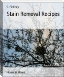 Stain Removal Recipes