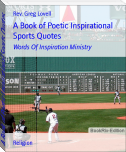 A Book of Poetic Inspirational Sports Quotes