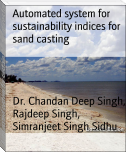 Automated system for sustainability indices for sand casting