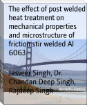 The effect of post welded heat treatment on mechanical properties and microstructure of friction stir welded Al 6063