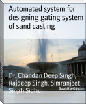 Automated system for designing gating system of sand casting