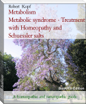Metabolism                 Metabolic syndrome - Treatment with Homeopathy and Schuessler salts