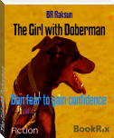 The Girl with Doberman