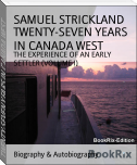 TWENTY-SEVEN YEARS IN CANADA WEST