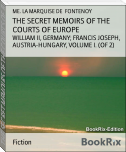 THE SECRET MEMOIRS OF THE COURTS OF EUROPE