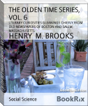 THE OLDEN TIME SERIES, VOL. 6