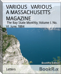 A MASSACHUSETTS MAGAZINE