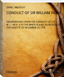 CONDUCT OF SIR WILLIAM HOWE