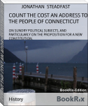 COUNT THE COST AN ADDRESS TO THE PEOPLE OF CONNECTICUT