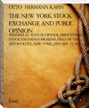 THE NEW YORK STOCK EXCHANGE AND PUBLIC OPINION