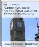 BAKEMONO YASHIKI (THE HAUNTED HOUSE) TALES OF THE TOKUGAWA, VOLUME 2 (OF 2)