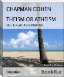 THEISM OR ATHEISM