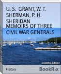 MEMOIRS OF THREE CIVIL WAR GENERALS