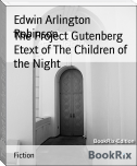 The Project Gutenberg Etext of The Children of the Night