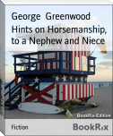Hints on Horsemanship, to a Nephew and Niece