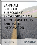 BURROUGHS' ENCYCLOPAEDIA OF ASTOUNDING FACTS AND USEFUL INFORMATION