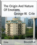 The Origin And Nature Of Emotions