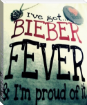 I've got Bieber Fever & I'm proud of it.