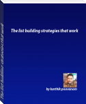 The list building strategies that work
