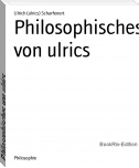 Cover Philosophisches von ulrics