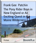 The Pony Rider Boys in New England or An Exciting Quest in the Maine Wilderness