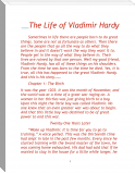 The Life of Vladimir Hardy