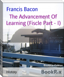 The Advancement Of Learning (Fiscle Part - I)