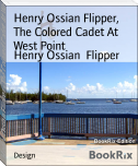 Henry Ossian Flipper,  The Colored Cadet At West Point