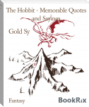 The Hobbit - Memorable Quotes and Sayings