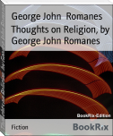 Thoughts on Religion, by George John Romanes