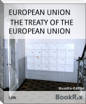 THE TREATY OF THE EUROPEAN UNION
