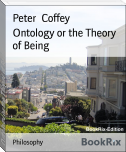 Ontology or the Theory of Being