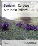 Altruist in Politics