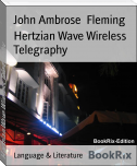Hertzian Wave Wireless Telegraphy