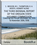 THE THIRD BIENNIAL REPORT OF THE OREGON STATE HIGHWAY COMMISSION